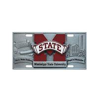 MSU License Plate